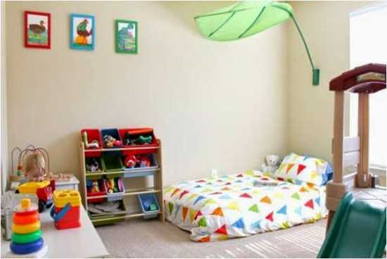 astuces cr er une chambre montessori son enfant. Black Bedroom Furniture Sets. Home Design Ideas